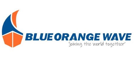 Blue Orange Wave - Joining the world together